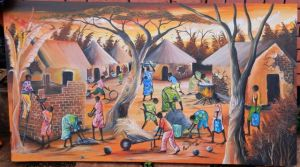 Village Painting
